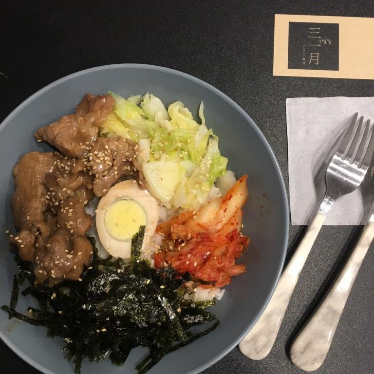 韓式風格的三一月|住宅區裡的迷你咖啡館|咖啡輕食|熱壓土司