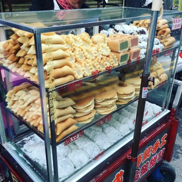 【彰化古早味】彰化市場裡的日式傳統手工甜點攤|民權市場