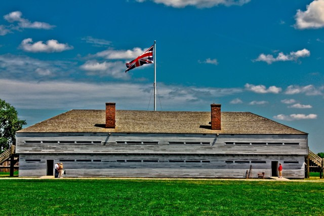 Fort George, Niagara-on-the-Lake, Day Trips Ontario, Places to Visit in Ontario, Forts in Ontario,