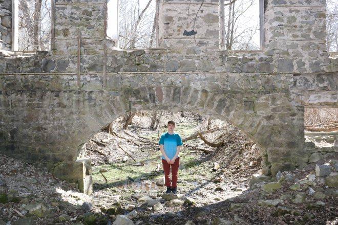 German Old Woolen Mill Ruins, Glen Morris Morris Ontario, Mill Ruins Ontario, German Mill Ruins,