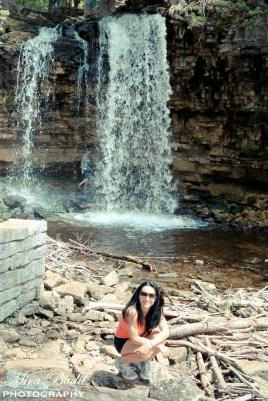 Hilton Waterfalls, Mill Ruins in Ontario, Halton Falls Conservation Area, Biking Trails Ontario, Mountain Biking Ontario,