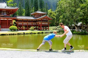 Byodo-In Temple, Byodo-In Temple Hawaii, Beautiful Temples in The World, Oahu Hawaii, Amazing Places in The World,