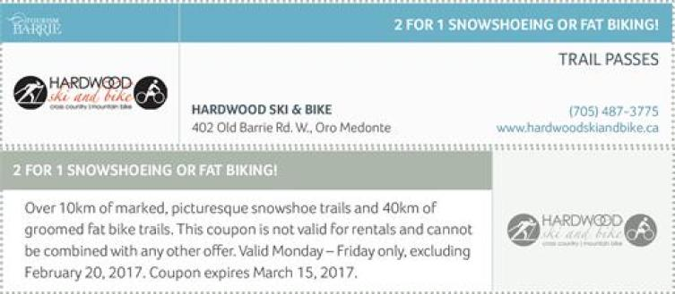 hardwood skis and bikes coupons, Ontario Skiing Coupons, Discount Coupons Ski Ontario, Ontario Coupons Ski Resorts, Scenic Caves, Cross Country Skiing Coupons Ontario, Ontario Skiing Deals, Snow Valley Coupons,