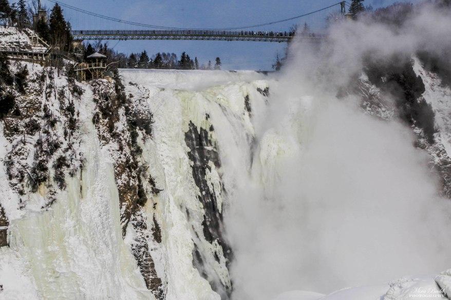 Montmorency Falls, Quebec Waterfalls, Quebec City Waterfalls Waterfalls in Quebec City, Things to See in Quebec, Places to Visit in Quebec in Winter, Hiking Trails Quebec City, Snowshoeing Trails Quebec, Things to Do in Quebec City in Winter, Attractions Quebec,