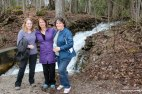 Snow Creek waterfalls, Ontario Waterfalls, Silver Creek Conservation Area, Ontario Conservation Areas, Hiking Trails Ontario, Bruce Trail, Ontario Hiking Trails,