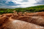 Hiking Trails in Caledon, Ontario Hiking Trails, Cheltenham Badlands, Things to See in Caledon, Caledon Badlands,