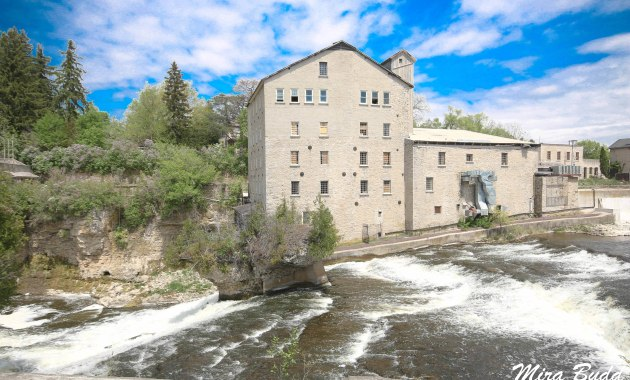 Elora Ontario, Mills in Ontario, Beautiful Towns in Ontario, Things to see in Elora,