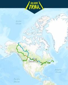 Trans Canada Trail, Trans Canada Trail Map, Best trail in the World, Longest Trail in The World, Best Hiking Trails in Canada, Best Cycling trails in Canada,
