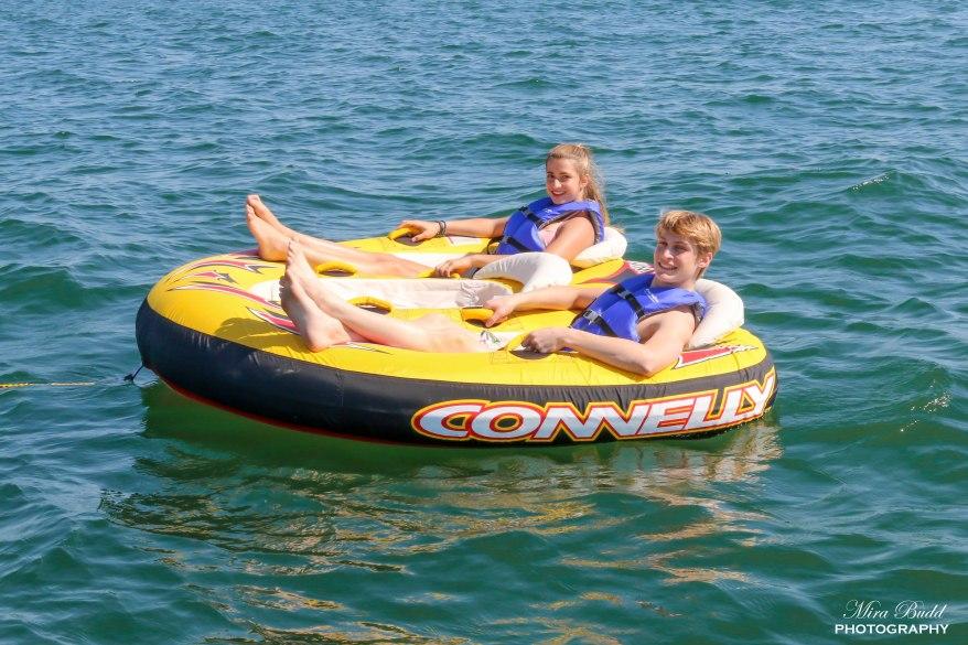 Lake Simcoe Tubing