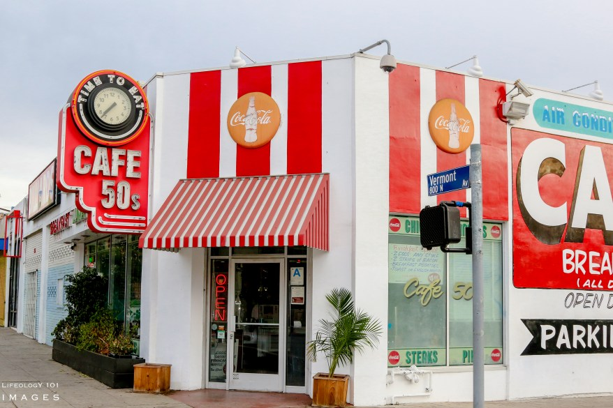 Los Angeles California - Places to Eat