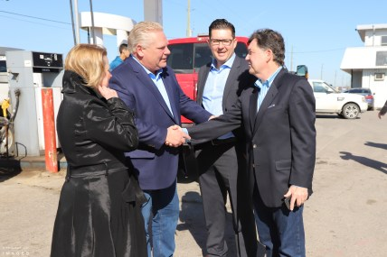 Doug Ford in Caledon