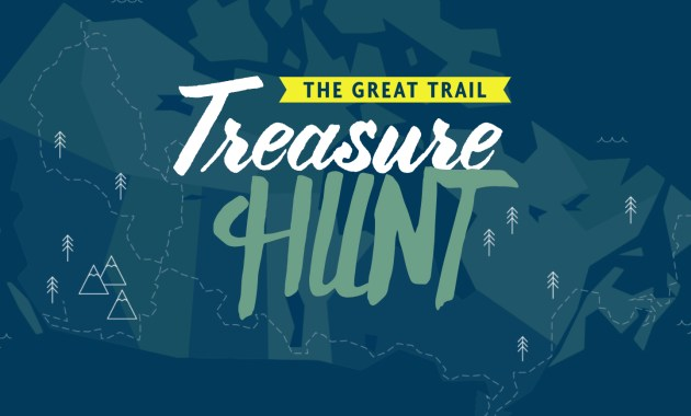 Trans Canada Trail, Treasure Hunt,