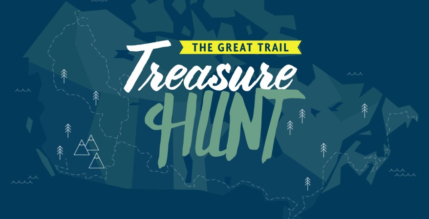 Trans Canada Trail, Treasure Hunt,