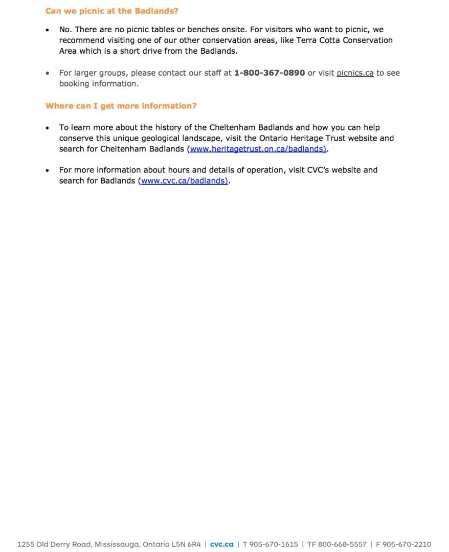 Cheltenham-Badlands-Plan-Your-Visit Page 4