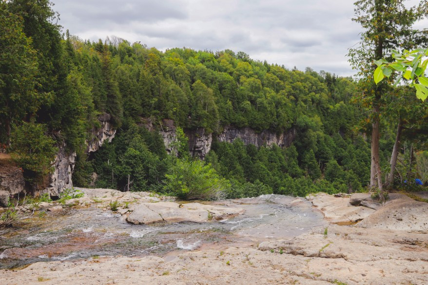 Ontario Waterfalls, Places to visit in Ontario, best waterfalls in Ontario, Eugenia Falls,