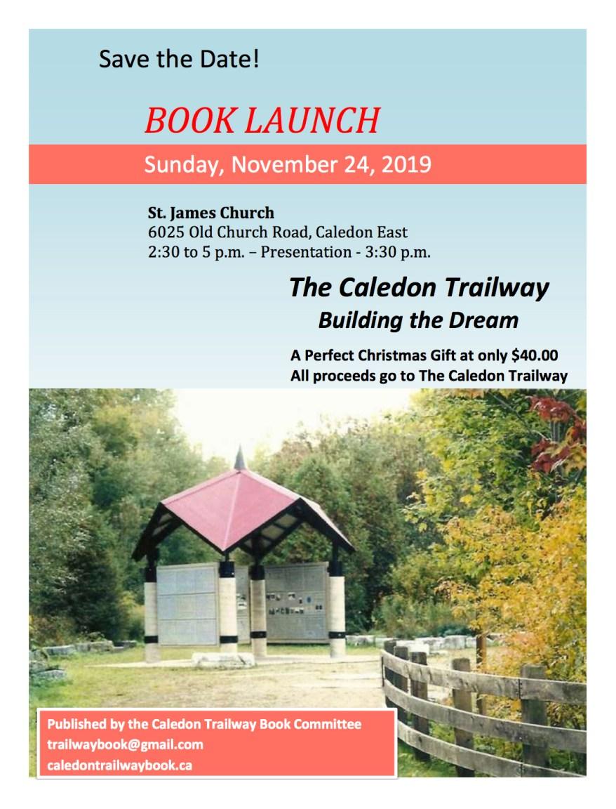 Caledon Trailway Book Launch