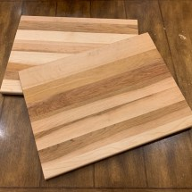 Canadian Maple 🍁 serving/cutting boards with personalized engraving 12 by 16 inches $80 (4 left)