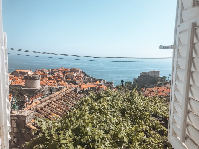 View from house of Adriatic Sea