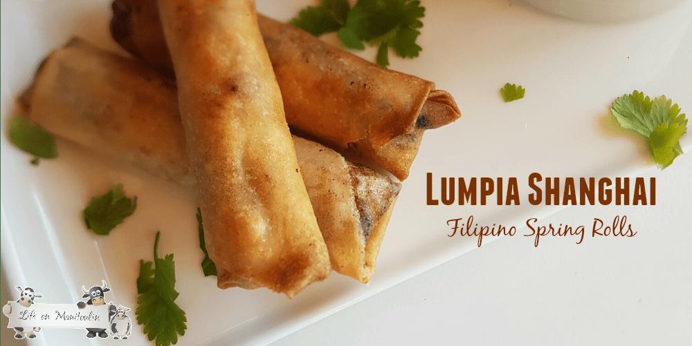 Sariwa Filipino Lumpia Recipe