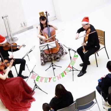 商業施設にてクリスマスコンサート