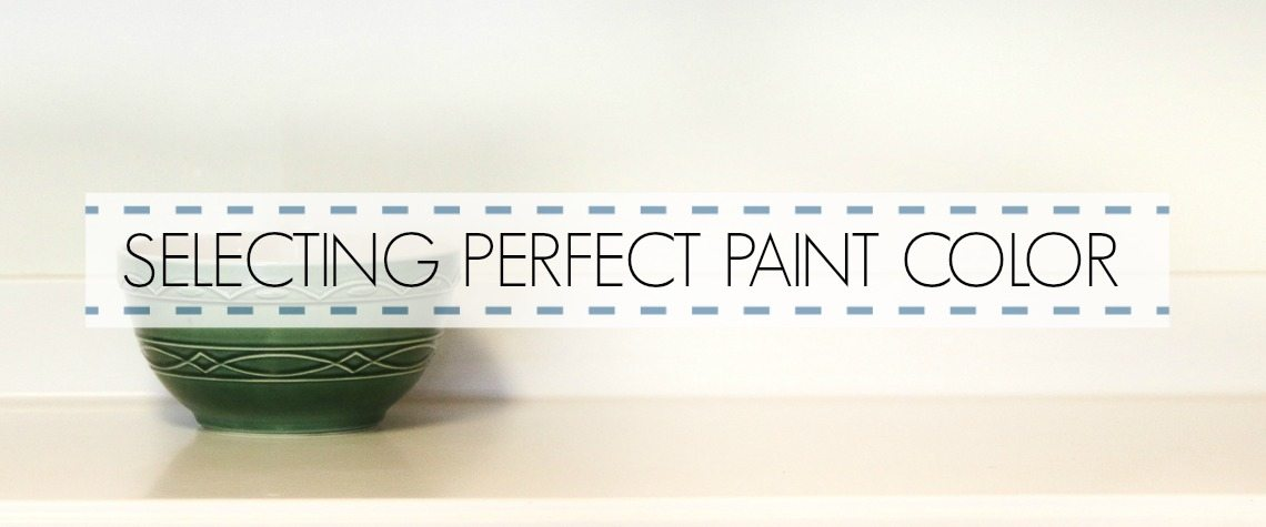 5 STEPS: SELECTING PAINT COLORS