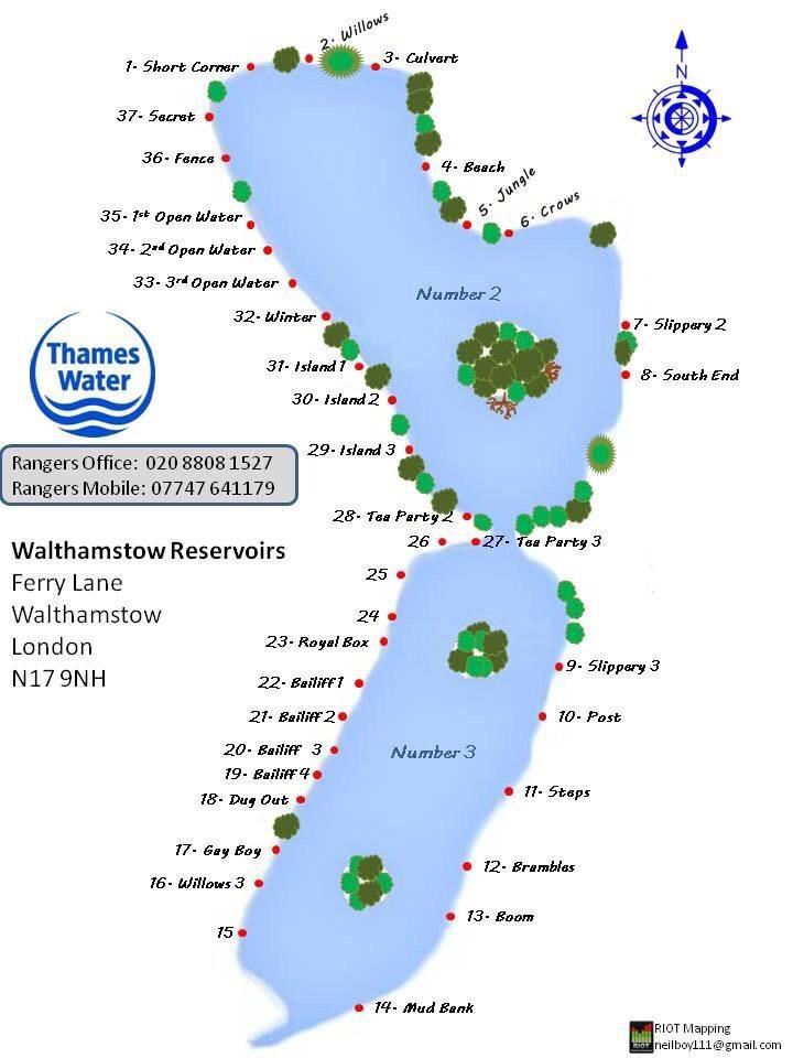 map Walthamstow
