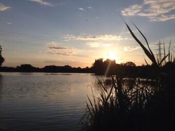 Walthamstow sunset