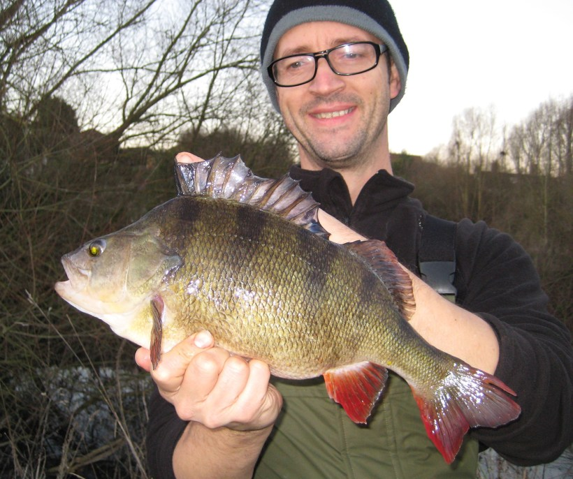 big perch fishing river lea