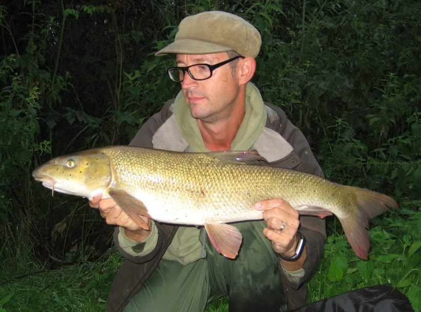 barbel fishing on the River Lea