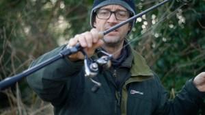 perch fishing lure rod