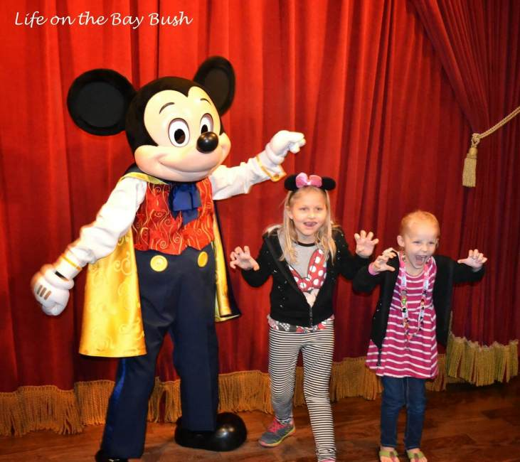 Meeting Mickey in the Magic Kingdom
