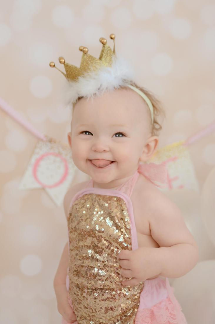 First Birthday Crown Tutorial