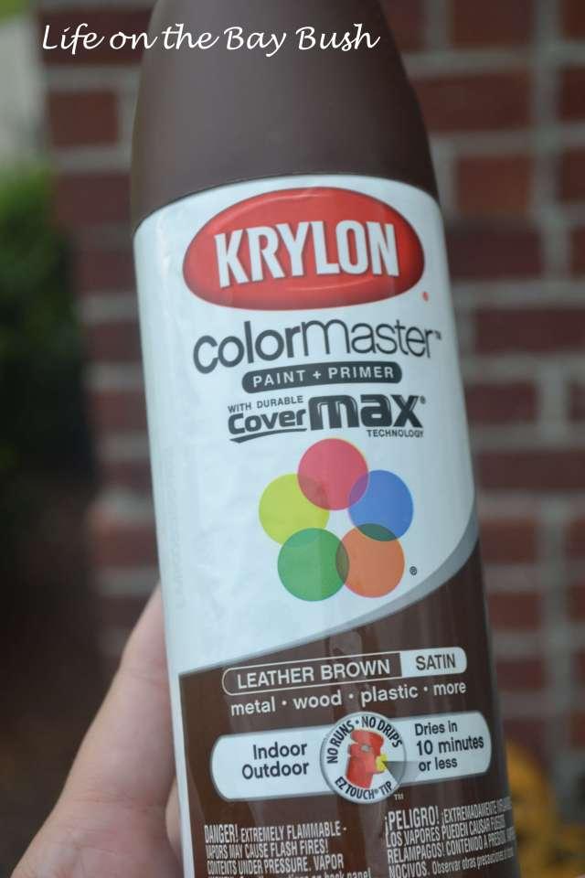 Krylon Leather Brown
