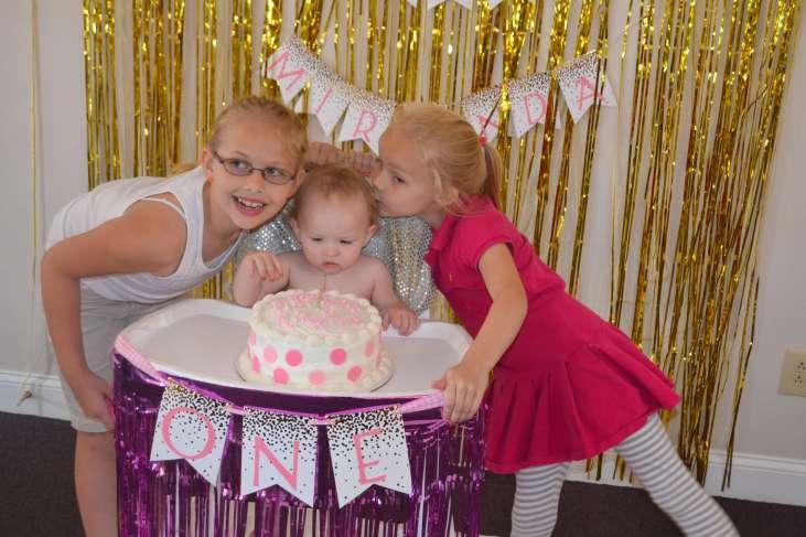 Miranda's First Birthday