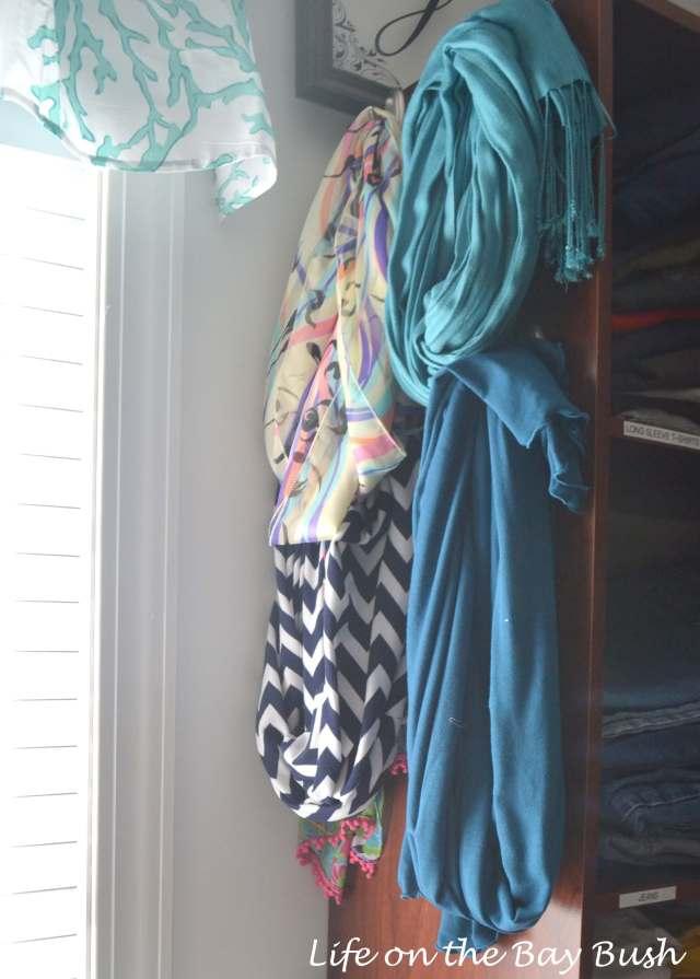 scarf-storage-closet-makeover