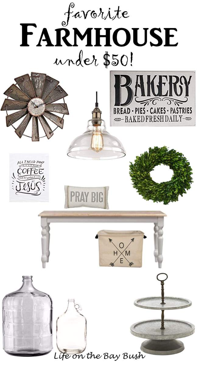 Farmhouse Favorites Under $50