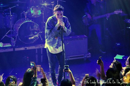 Sammy Wilk at the Troubadour in West Hollywood, CA