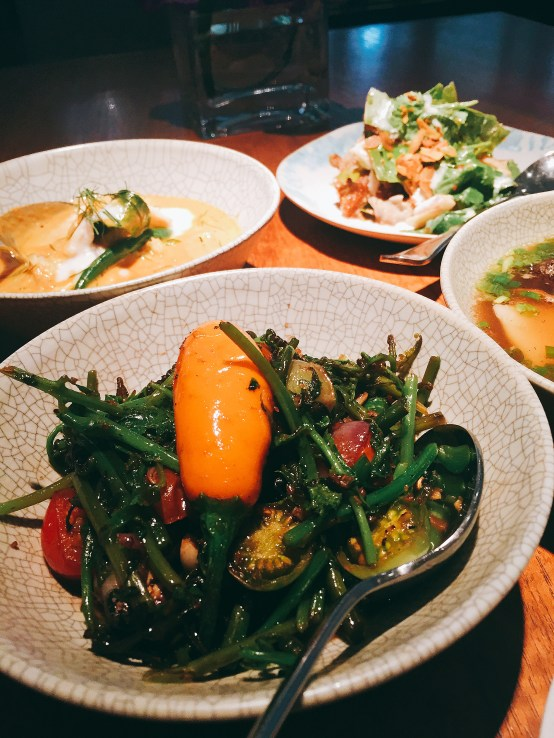 Nahm by David Thompson in Bangkok (booked on OpenTable)