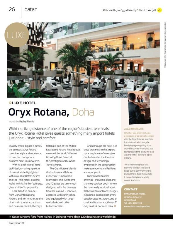 Oryx Rotana