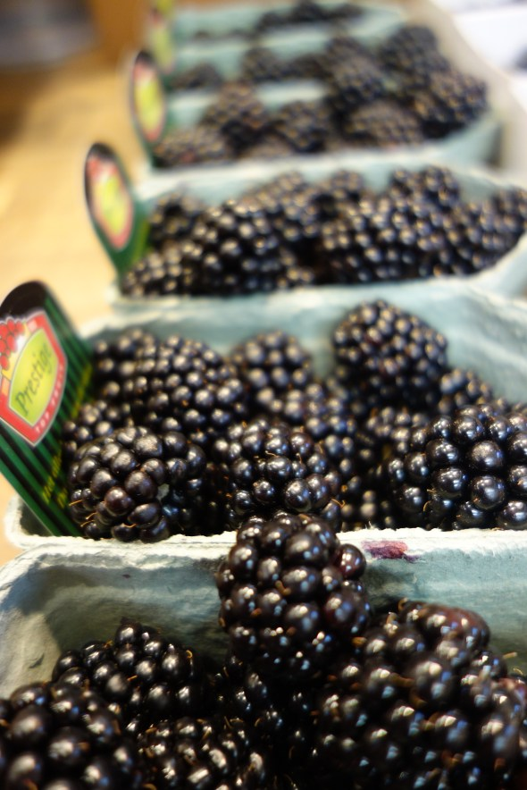 Fresh berries at Ostermalm