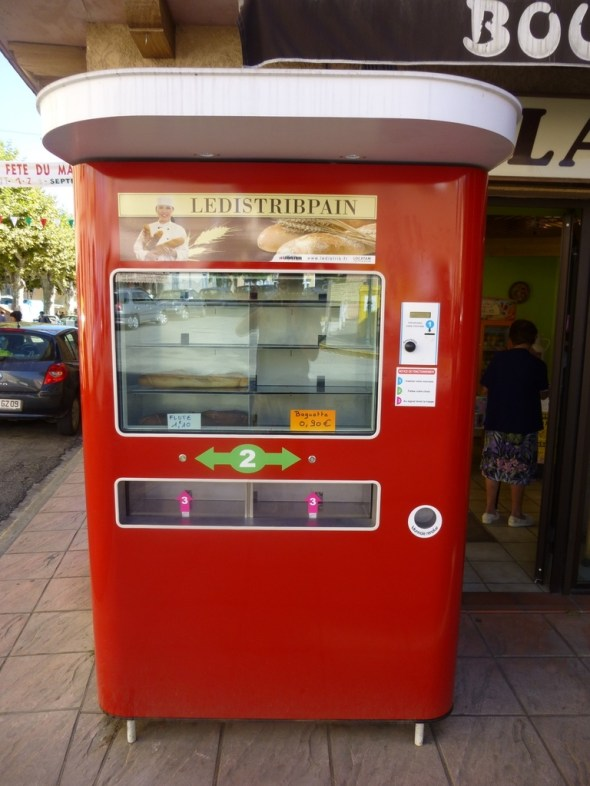 France, a country so addicted to bread you can even get a fix from a vending machine.