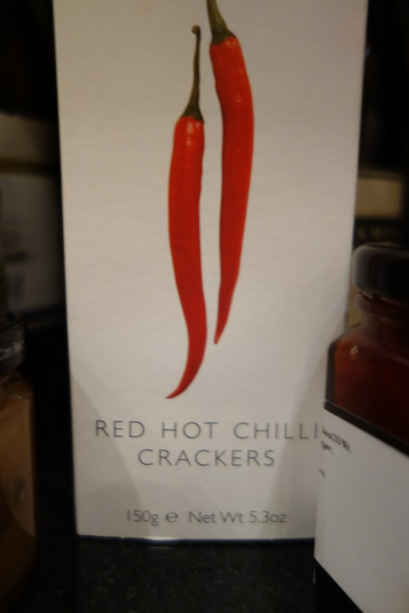 Red Hot Chilli Crackers