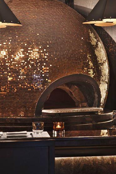 La Spiga's trippy disco pizza oven