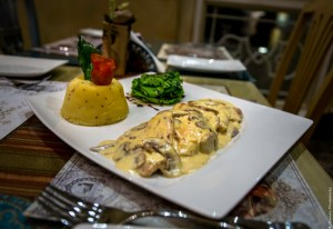 Shakespeare's Classic Chicken - their most popular dish