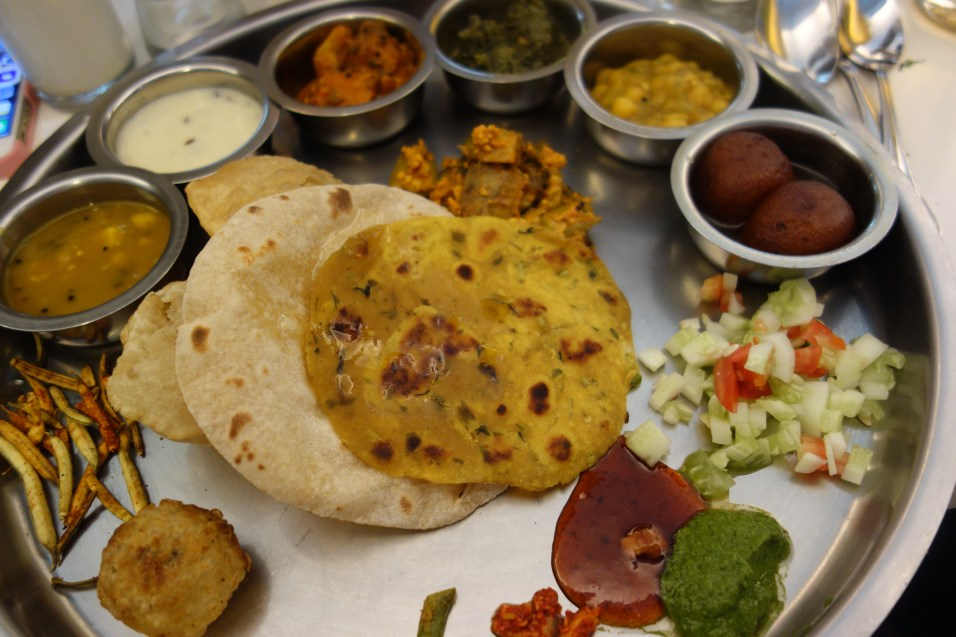 Veg Thali - this disappeared pretty quickly