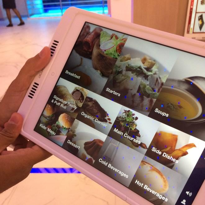 The iPad Menu