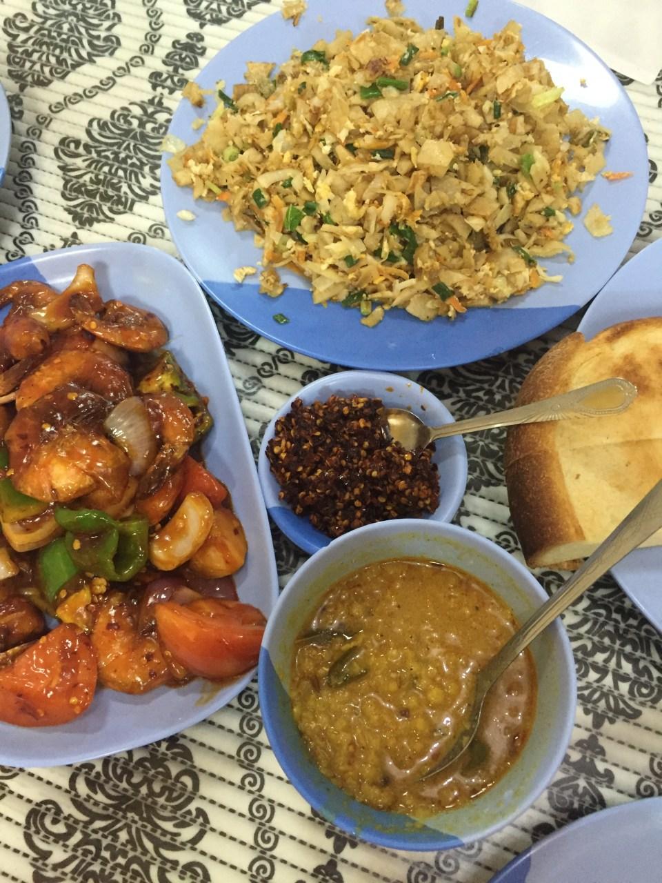 food blogger Sri Lankan food