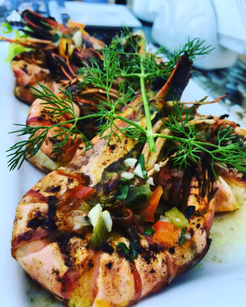 prawns shrimps seafood food blogger