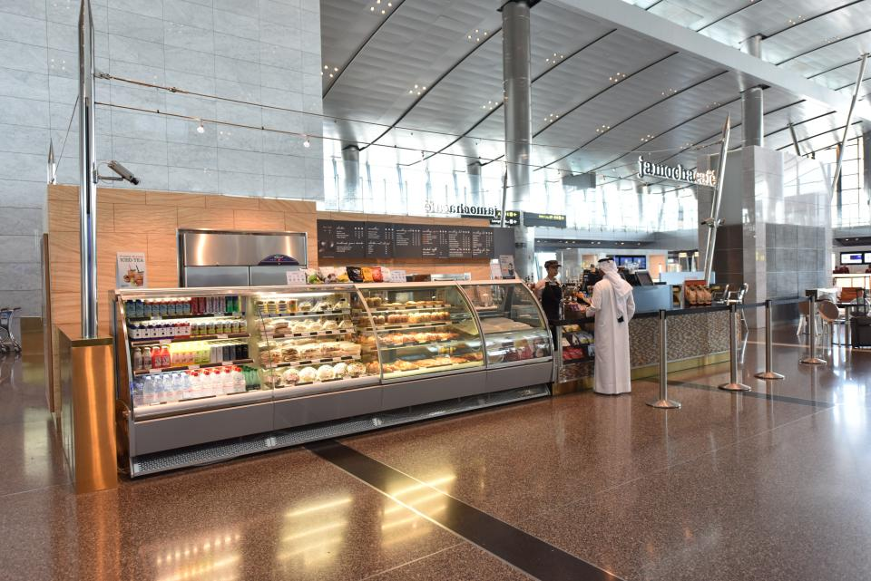 cafe doha airport food blog