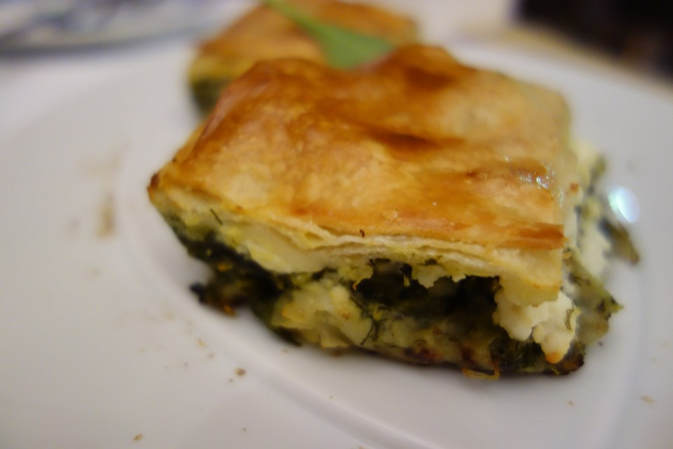 spinach pie feta cheese doha food